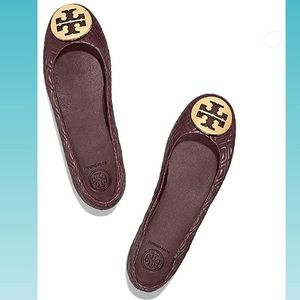Tory Burch | Minniee Quilted Leather Ballet Flat
